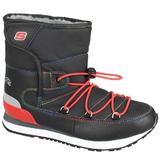 Ghete copii Skechers Retrospect Winter Daze 996274L/BKRD, 37, Negru