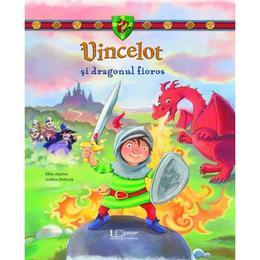 Vincelot si dragonul fioros - Ellen Alpsten, Andrea Hebrock, editura Univers Enciclopedic