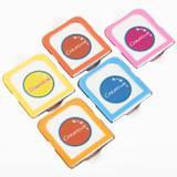 Set pudra pentru vopsit temporar parul Creative Neon Hair Color, 5 culori