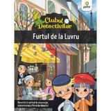 Clubul detectivilor: Furtul de la Luvru - Eleonora Barsotti, editura Gama