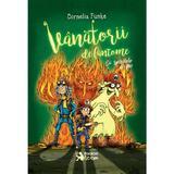 Vanatorii de fantome: Si spiritele de foc - Cornelia Funke, editura Booklet