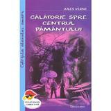 Calatorie spre centrul pamantului - Jules Verne, editura Cartex