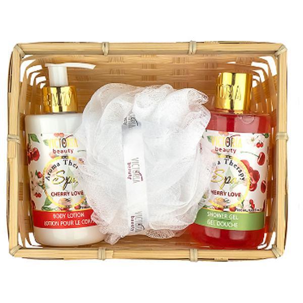 Set Cadou cu Cirese Aroma Therapy Spa Camco