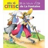 Stiu sa citesc - 20 de fabule de La Fontaine, editura Girasol