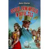 Ocolul pamantului in 80 de zile - Jules Verne, editura Herra