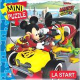 Disney baby. mini puzzle. mickey si pilotii. la start, editura Litera