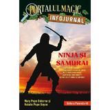 Portalul magic. infojurnal. ninja si samurai - mary pope osborne, natalie pope boyce