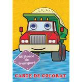 Mijloace de transport. Carte de colorat, editura Biblion