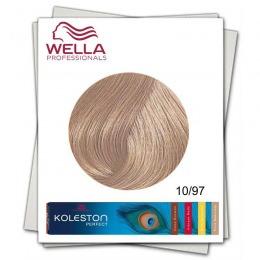 Vopsea Permanenta - Wella Professionals Koleston Perfect nuanta 10/97 blond luminos abastru maro