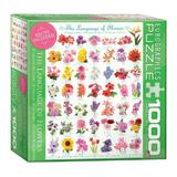 Puzzle Eurographics - 1000 de piese - The Language of Flower