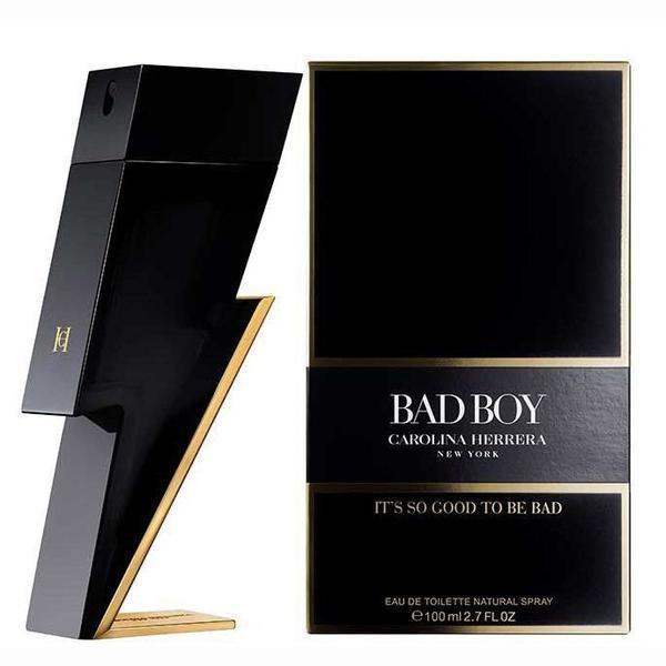 Apa de Toaleta pentru barbati - Carolina Herrera, Bad Boy, 100 ml poza