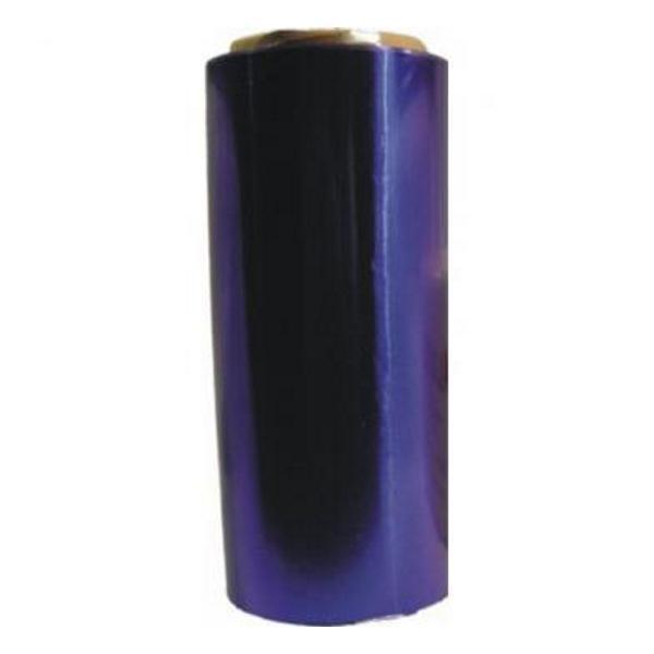 Folie de Aluminiu Albastra 12 cm x 100 m, grosime 15 A Sinelco esteto.ro
