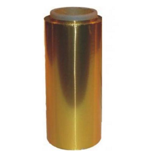 Folie de Aluminiu Aurie 12 cm x 100 m, grosime 15 A Sinelco esteto.ro