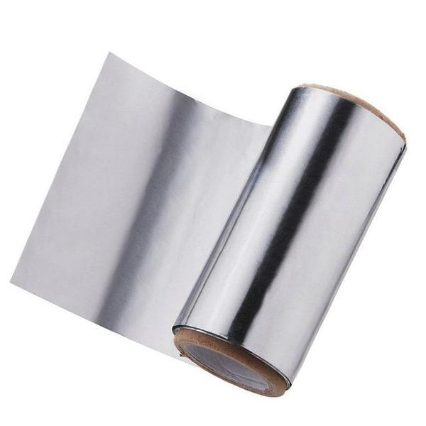 Folie de Aluminiu Argintie 12 cm x 100 m, grosime 20 A Sinelco imagine produs