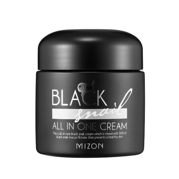 Crema de noapte Black Snail All In One Cream, K-Beauty 75 ml poza