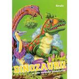 Dinozaurii si alte animale preistorice. Care de colorat cu abtibilduri