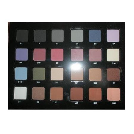 Paleta Profesionala 24 Culori Fard de Pleoape Compact - Cinecitta PhitoMake-up Professional Tavolozza Professionale 24 Colori Ombretto Compatto nr 1