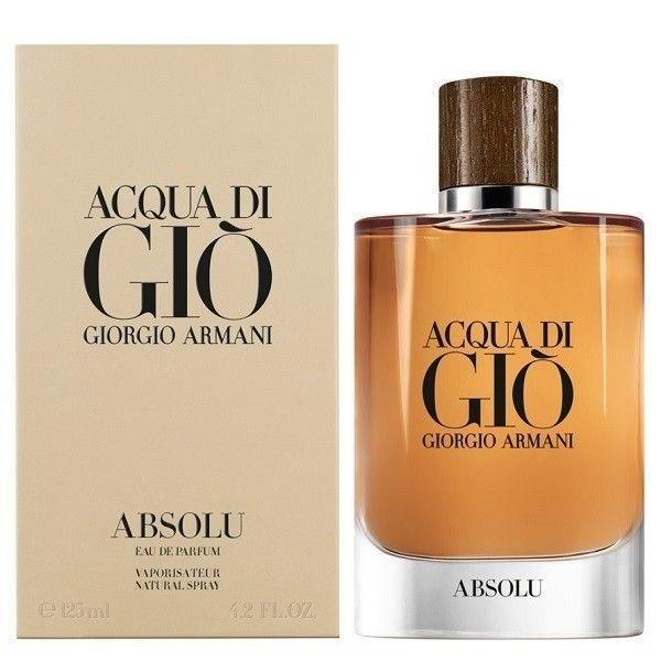 Apa de Parfum pentru barbati Giorgio Armani, Acqua Di Gio Absolu, 125 ml poza