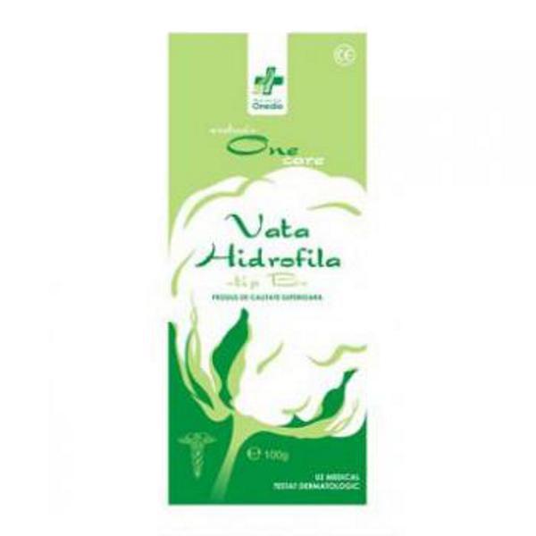 Vata Hidrofila Tip B Onedia, 100 g esteto.ro