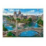 Puzzle Castorland - 500 de piese - Paris Notre Dame
