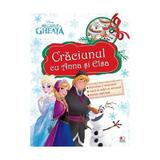 Disney - Craciunul cu Anna si Elsa, editura Litera