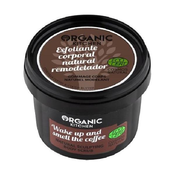 Crema Exfolianta cu Cafea Etiopiana Organic Kitchen, 100 ml imagine produs