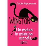 Winston, un motan in misiune secreta - Frauke Scheunemann, editura Booklet