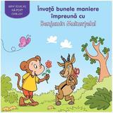 Invata bunele maniere impreuna cu Benjamin Maimutelul, editura Prut