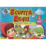 Scufita Rosie - Povesti Pop-up, editura Aramis