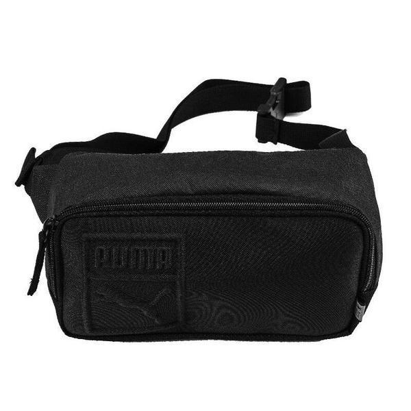 Borseta unisex Puma Small Waist Bag 07564201, Marime universala, Negru