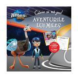 Citesc si ma joc: Aventurile lui Miles - Miles in spatiu, editura Litera