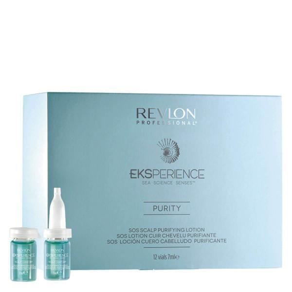 Lotiune Purificatoare - Revlon Professional Eksperience SOS Scalp Purifying Lotion 12 x 7 ml imagine produs