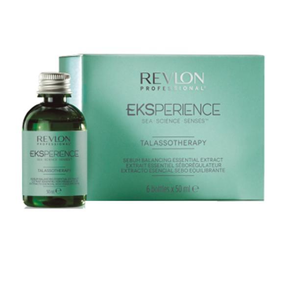 Lotiune Anti Seboreica - Revlon Professional Eksperience Thalasso Sebum Balancing Oil 6 x 50 ml imagine produs