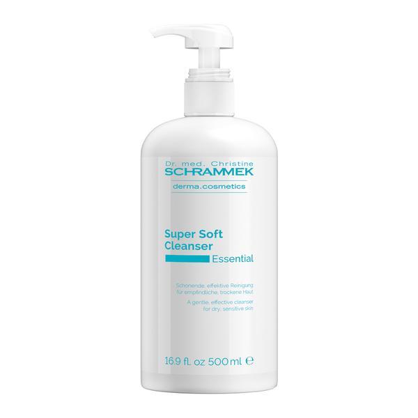 Demachiant pentru Piele Sensibila sau Uscata - Dr. Christine Schrammek Super Soft Cleanser 500 ml