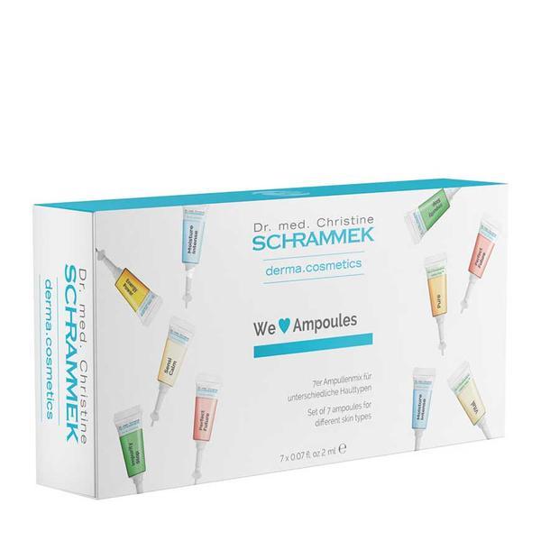 Fiole - Dr. Christine Schrammek We Love Ampoules 7 x 2 ml imagine produs