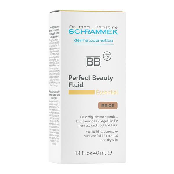 Blemish Balm Perfect Beauty Fluid Essential SPF 15 Dr. Christine Schrammek, nuanta Beige 40 ml imagine produs