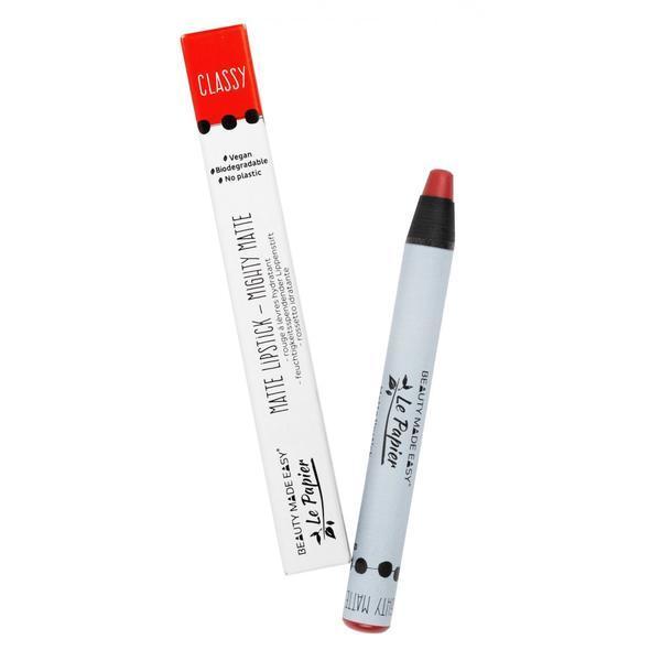 Ruj hidratant mat Beauty Made Easy le Papier Creion - CLASSY 6g imagine produs