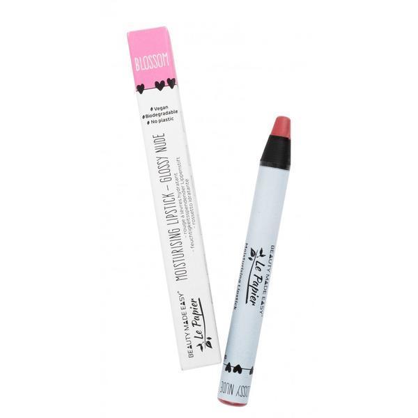 Ruj hidratant Beauty Made Easy Le Papier Creion - GLOSSY NUDE-BLOSSOM 6g imagine produs