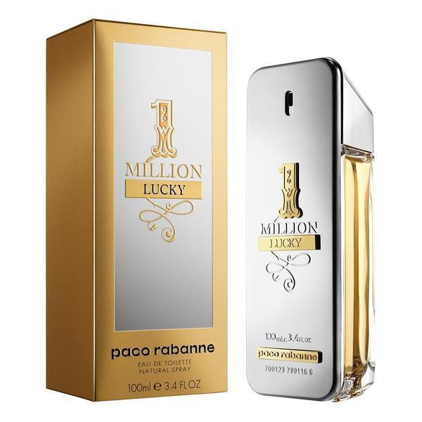 Apa de Toaleta pentru barbati Paco Rabanne, 1 Million Lucky, 100 ml poza