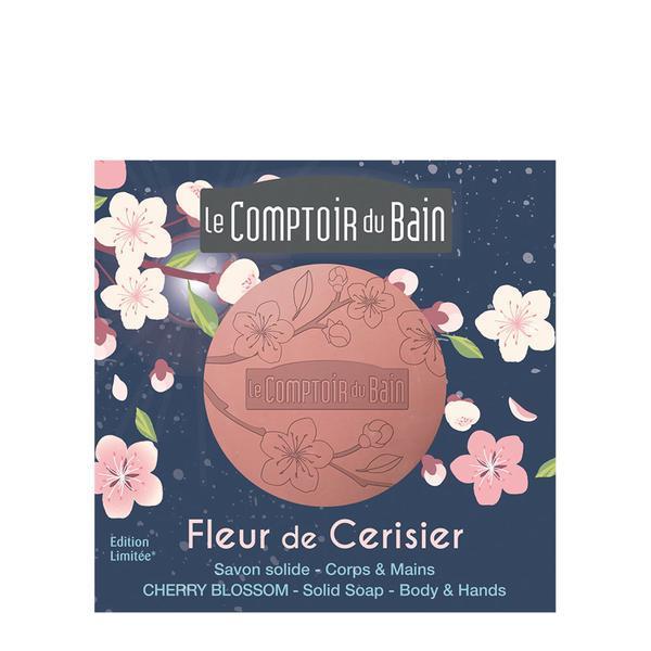 Sapun de Marsilia Editie Limitata Floare de Cireș Le Comptoir du Bain 100g imagine produs