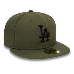 Sapca Unisex New Era Los Angeles Dodgers Essential 59fifty 12285501, 7 1/4, Verde