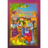 Fata babei si fata mosului. Carte de colorat cu povesti