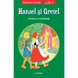 Hansel si gretel. prima mea lectura. nivel 1 (cu pictograme)