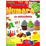 Numere - Carte de activitati cu autocolante 3-6 ani, editura Litera