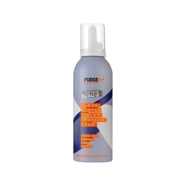 Spuma de Par pentru Par Fin - Fudge Clean Blonde Xpander Foam 200 ml