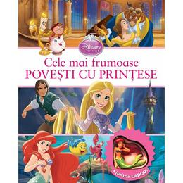 Cele mai frumoase povesti cu printese- Disney Junior + Jucarie Cadou, editura Litera