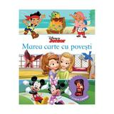 Marea carte cu povesti - Disney Junior + Jucarie Cadou, editura Litera