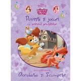 Palace pets - Povesti si jocuri cu prietenii printeselor - Sa le cunoastem pe Acrobata si Scumpete, editura Litera