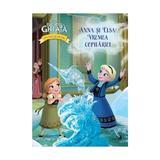 Disney Regatul de Gheata. Povesti si jocuri. Anna si Elsa - Vremea copilariei, editura Litera