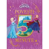 Disney Regatul de gheata - Povesti de 5 minute, editura Litera
